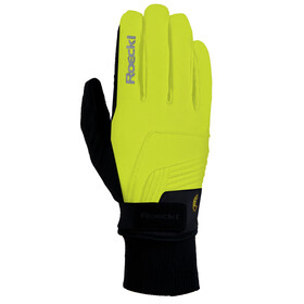 Roeckl Rebelva Bike Gloves yellow/black